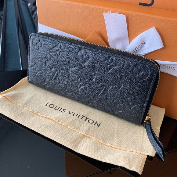 Louis Vuitton Handbags - Authentic Black Empriente Clemence Wallet